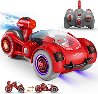 Remote Control Car, RC Cars Xmas Gifts for Kids 2.4GHz Spray Remote Control Vehicle with 360...
