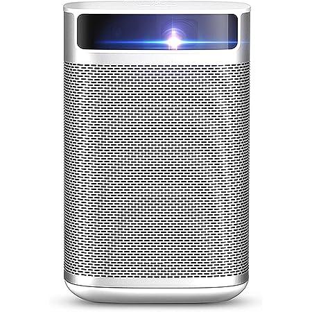 XGIMI Mogo Pro プロジェクター 小型 (フル HD 1080P対応 モバイルプロジェクター)【世界初 Android TV搭載/300ANSIルーメン/ Harman/Kardon スピーカー内蔵/ 高速オートフォーカス/ 大容量バッテリー 家庭用/5000種類以上のアプリケーション / ホームシアター】