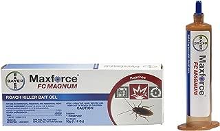 2 Tubes Maxforce FC Magnum Cockroach German Roach Pest Control Gel Bait 33 gram per tube w/ 1 Plunger ~~ 5 Times Stronger then Regular Maxforce FC Roach Gel ~~ Mata Cucarachas! THE NEW MAGNUM PACKAGED IN BLUE