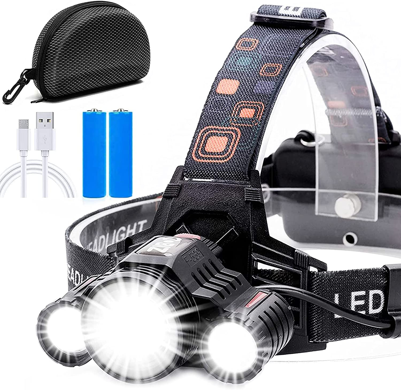 Headlamp Cobiz Brightest High 6000 LED Under blast sales Spasm price Lumen Headlight Work 1865