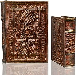 Book Box Set Celtic Eternal Knot Decorative Secret Stash Chest