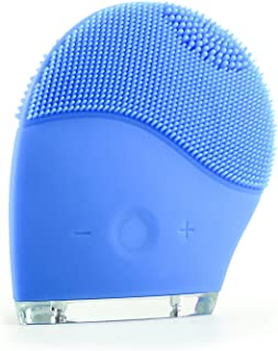 Silicone Cleanser Ailaiya Waterproof Multifunctional Electric Facial Cleansing Brush (blue)