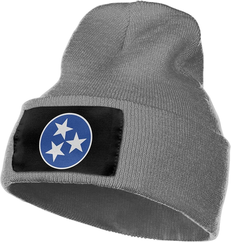 Tennessee Flag Columbus Mall Trendy Stylish Rib Ha New color Knit Hat Winter Beanie