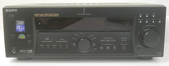 SONY STR-K502P Digital Surround Sound AM FM Stereo Receiver 5.1 Channel Speaker Outputs 64 Bit DSP Digital Cinema Sound 8 Ohms 100 Watts Per Channel
