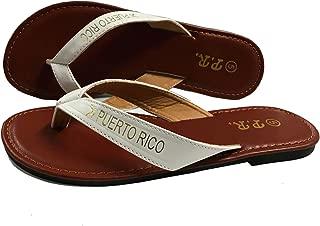 Puerto Rico Sandals White