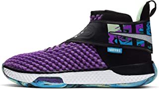 Air Zoom UNVRS Basketball Shoes (Sizes 3.5-15) (14, Vivid Purple/White)