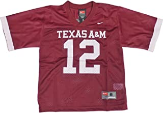 NIKE Texas A&M Aggies (University of) Kids/Youth College Football Jersey Size 5 Red