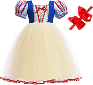 Princess Dresses Costumes for Toddler Girls Birthday 2T 3T 4T 5T 6T