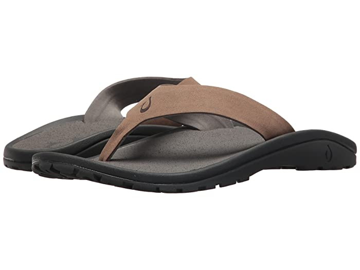 'Ohana Ho'okahi  Shoes (Mustang/Charcoal) Men's Sandals