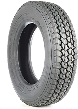 Double Coin RLB490 Low Profile Drive-Position Multi-Use Commercial Radial Truck Tire -