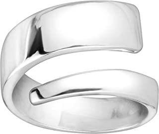 Silpada 'Silver Lining' Wrap Band Ring in Sterling Silver