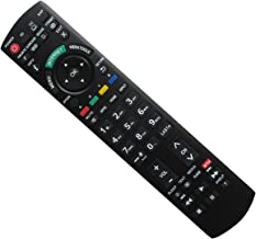 Hotsmtbang Replacement Remote Control with Netflix APP Button for Panasonic TH-42PD25UP TH-42PD25U TH-42PX25U TH-42PD25 TH-37PX25U TH-55LRU50 TH-32LRH30U TH-37PX25U PT-42PD3-P Viera LED HDTV TV