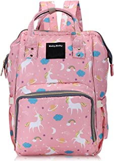 Diaper Bag Backpack Baby Bag Multifunction Maternity Travel Changing Pack – Water Resistant Nappy Tote by Foolzy