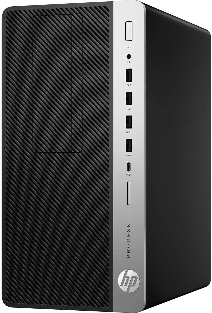 HP Business Desktop ProDesk 600 G3 Desktop Computer - Intel Core i5 (7th Gen) i5-7500 3.40 GHz - 8 GB DDR4 SDRAM - 1 TB HDD - Windows 10 Pro 64-bit - Micro Tower - Jet Black - DVD-Writer DVD177;