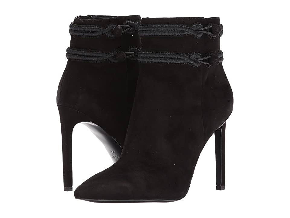 Nine West Teresa (Black/Black Suede) Women