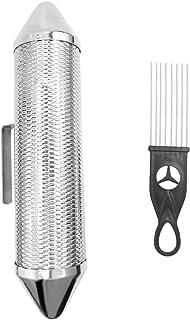 EastRock فولاد ضد زنگ Guiro Shaker سازگار با دوام Guiro با ScraperMusical ساز کوبه ای ، باند حرفه ای همراه شن و ماسه چکش Guiro Shaker