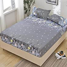 Waterproof bed sheet urine-proof breathable bedspread bed cover single piece non-slip 1.8m meters Simmons mattress dust-pr...