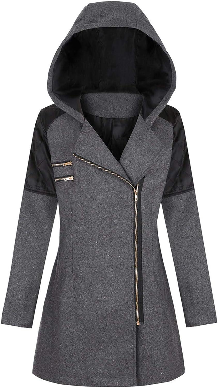 Hengshikeji Womens Vintage Cloak Plus Size Long Hooded Long Sleeve Tops Clothing Skirted Hooded Coat