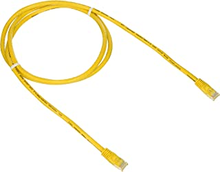 Monoprice Cat6 Ethernet Patch Cable - Network Internet Cord - RJ45, Stranded, 550Mhz, UTP, Pure Bare Copper Wire, 24AWG, 5...