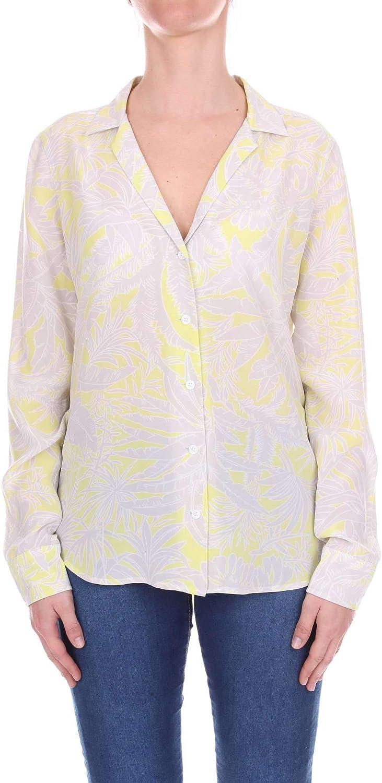 EQUIPMENT Women's Q2897E522GREY Grey Silk Shirt