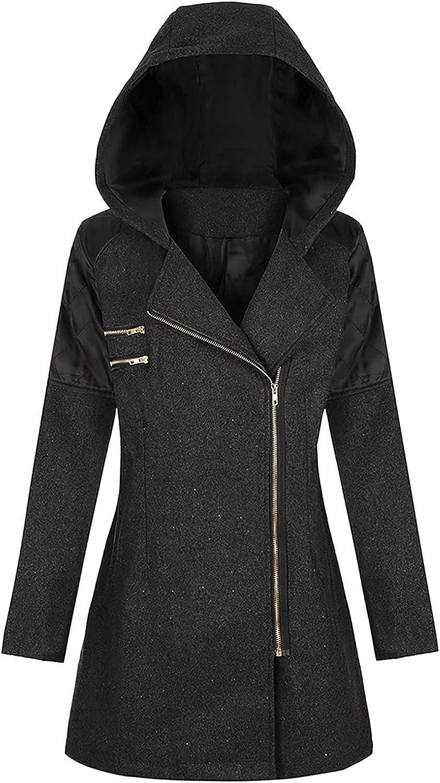 Kanzd Winter Coats 5 ☆ very popular for Women Fashion Pea Wool Zipper overseas Long Sleeve