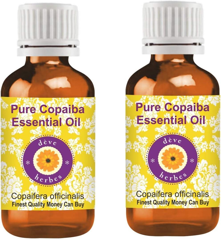 Deve Max 49% OFF Herbes Pure Copaiba Essential Copaifera Oil officinalis Max 63% OFF 1
