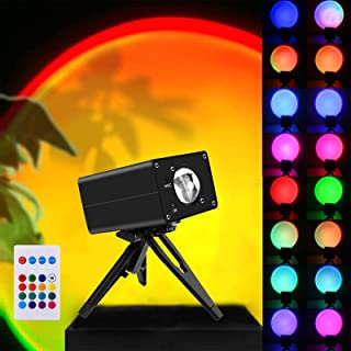 Sunset Lamp Projector Projection Led 16 in 1 Romantic...