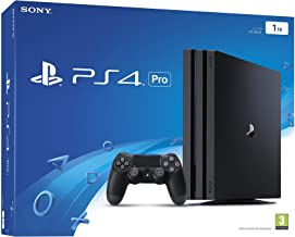 Sony PlayStation 4 Pro 1TB Console - Black (PS4 Pro) (Renewed)