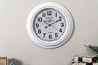 Pan Emirates Jacobsen Wall Clock, White - D50cm