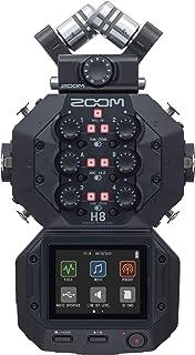 ZOOM ズーム ポッドキャスト フィールドレコーダー 8チャンネル 音楽制作 ハンディレコーダー【メーカー3年延長保証付】 H8