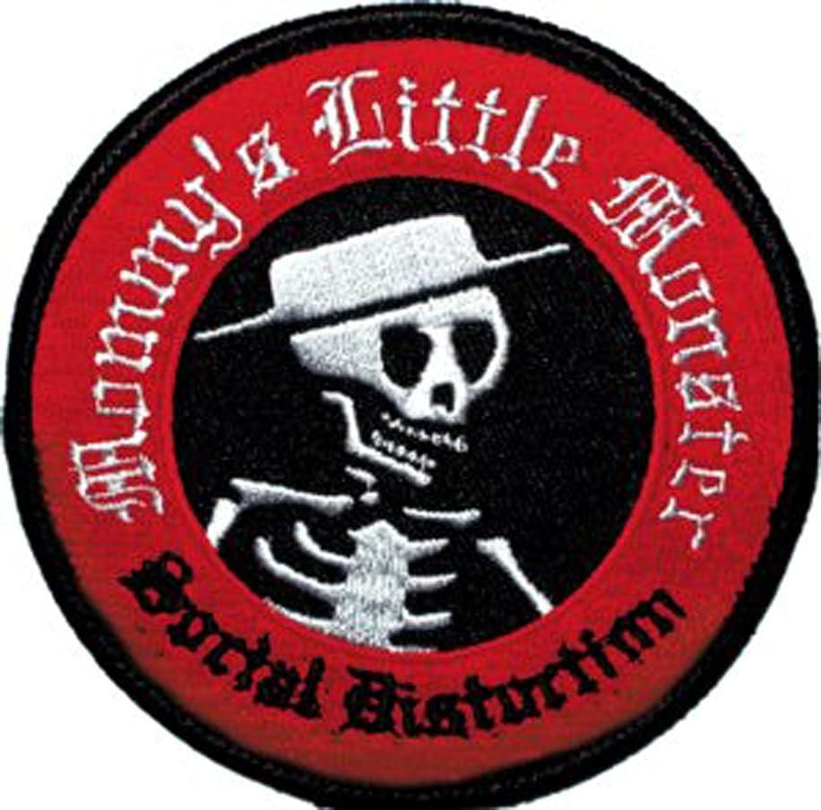 Application Social Distortion Skull Logo Patch