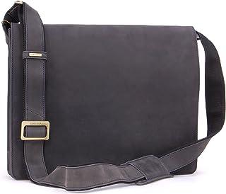 Visconti - Leather - Shoulder Bag/Work Bag/Shoulder Bag - A4 - Hardvard - (18548)