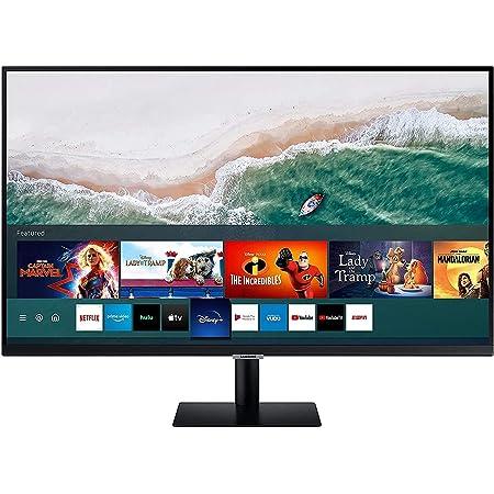 Samsung Smart M5 de 27 pulgadas LS27AM502NUXEN con Tecnología Full HD (1920x1080), Altavoces, Conectividad Móvil, Mando a Distancia y Aplicaciones de ...