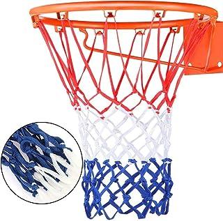 YUESEN 2pcs Malla de Baloncesto Red de Baloncesto Nylon, Malla de Reemplazo Resistente, Malla para Estándard Canasta de Baloncesto, para Entrenamiento al Aire Libre