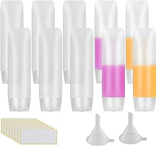 10 pcs de transparente  envase de loción exprimible MEZOOM
