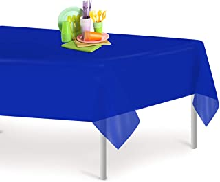 Best royal blue plastic tablecloth Reviews