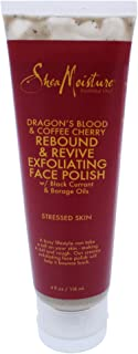 Shea Moisture Dragons Blood & Coffee Cherry Rebound & Revive Exfoliating Face Polish for Unisex, 4 Ounce