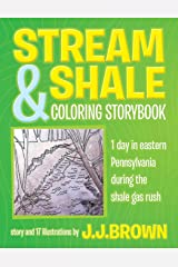 Stream and Shale Coloring Storybook Paperback