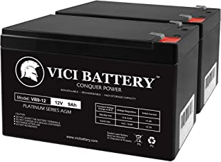 VICI Battery 12V 9Ah SLA Battery Replacement for Acorn Stairlift - 2 Pack Brand Product