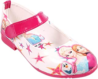 Rgk's Barbie Sisters Long Shoes Mary Jane Shoes Sandals Slippers Booties for Baby Girls of 3 Years | 4 Years | 5 Years | 6 Years | 7 Years | 8 Years | 9 Years