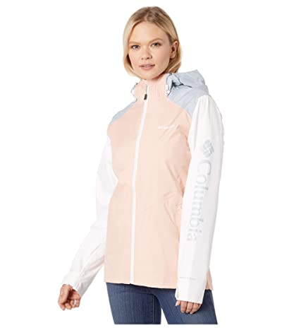 Columbia Inner Limitstm II Jacket (Peach Cloud/White/Cirrus Grey) Women