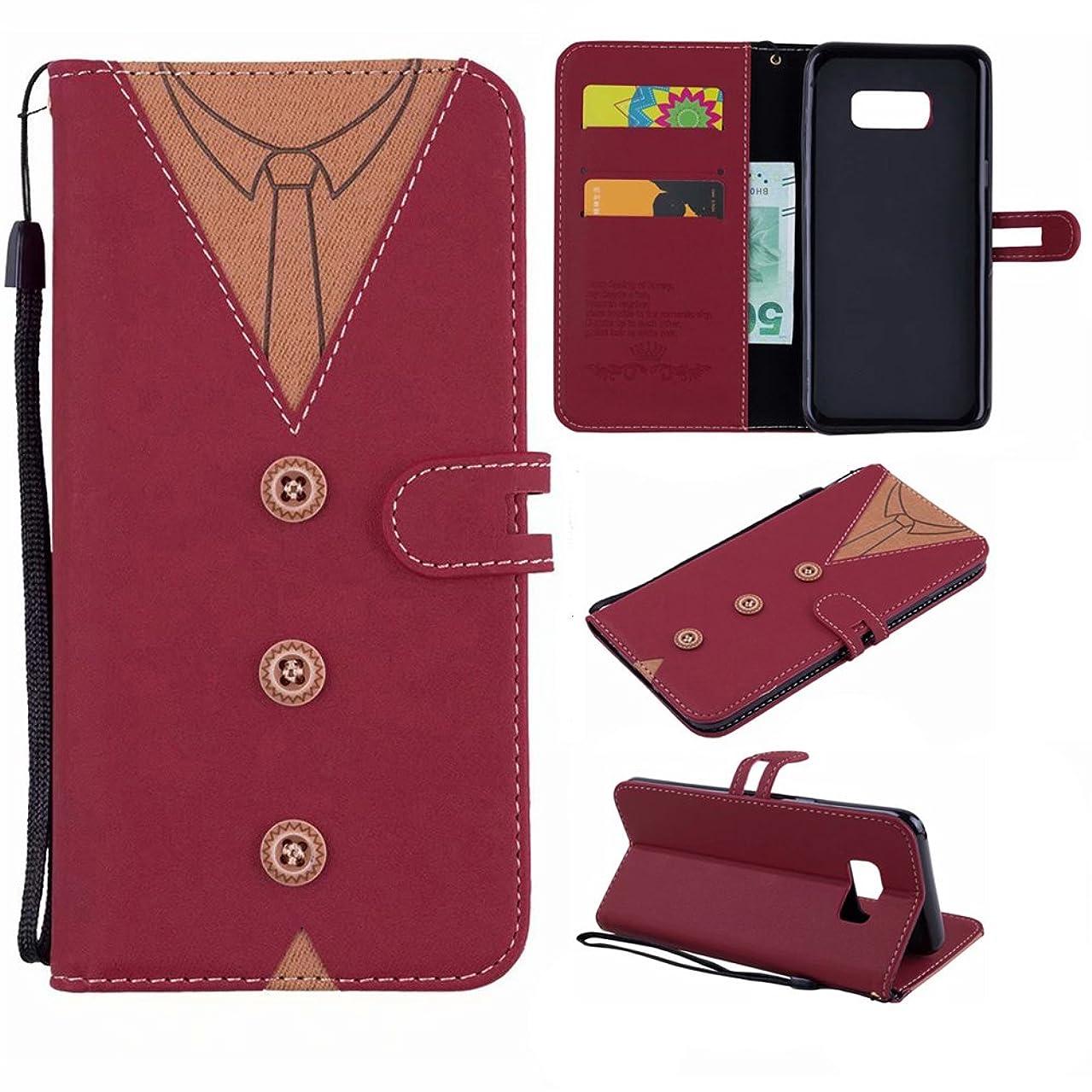 Scheam Samsung Galaxy S Lite Luxury Edition Samsung Galaxy S8 Wallet Multi Card Holder Women Case Compatible Folio PU Leather Cover Case Compatible Case Compatible Samsung Galaxy