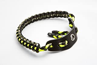 Ace Two Tactical Bow Wrist Sling 550 Paracord - Survival Hunting Shooting - Durable Leather with Grommet (Multiple Color Options)