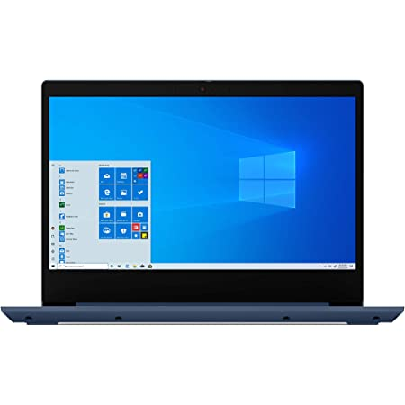 "Lenovo IdeaPad 3 14"" Laptop, 14.0"" FHD 1920 x 1080 Display, AMD Ryzen 5 3500U Processor, 8GB DDR4 RAM, 256GB SSD, AMD Radeon Vega 8 Graphics, Narrow Bezel, Windows 10, 81W0003QUS, Abyss Blue"