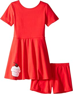 fiveloaves twofish - Play Skater Cupcake Dress (Toddler/Little Kids)