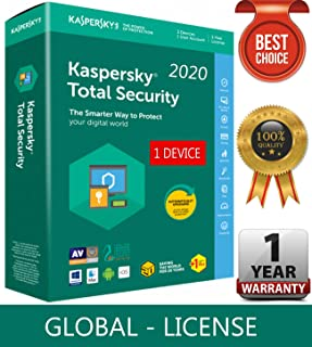 KSPERSKY TOTAL Security 2020 / 1 Device / 1 Year - [EMAIL CODE DELIVERY IN 24 HOURS OR LESS]