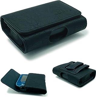 SEWAS Diabetic Care - Funda para medidor Freestyle Libre 1 y 2, funda para cinturón, medidor de azúcar en sangre, funda protectora negra