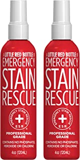 Emergency Stain Rescue Professional Grade Formula Stain Remover (120ml, 4 oz)   2 Pack  Stain Remover for Clothes   Carpet Spot Cleaner   Non Toxic