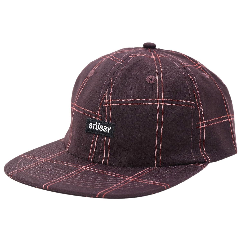 (ステューシー) STUSSY キャップ 帽子 Plaid Strapback Cap [並行輸入品]