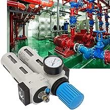 DierCosy Tools Regulador De Filtro 1//4 Filtro De Aire Comprimido del Compresor De Presi/ón De Aceite del Regulador De Agua Separador De Agua
